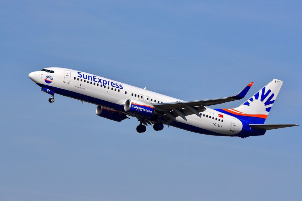 Boeing 738 SunExpress