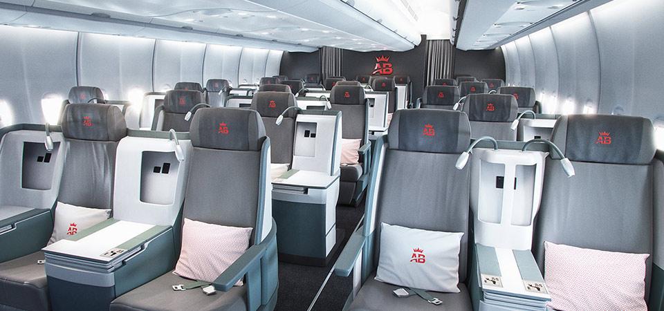 Cabine Business d'Air Belgium
