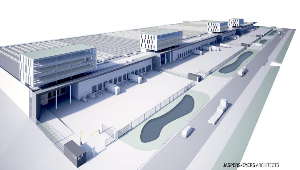 Bâtiments logistiques ultramodernes Brucargo