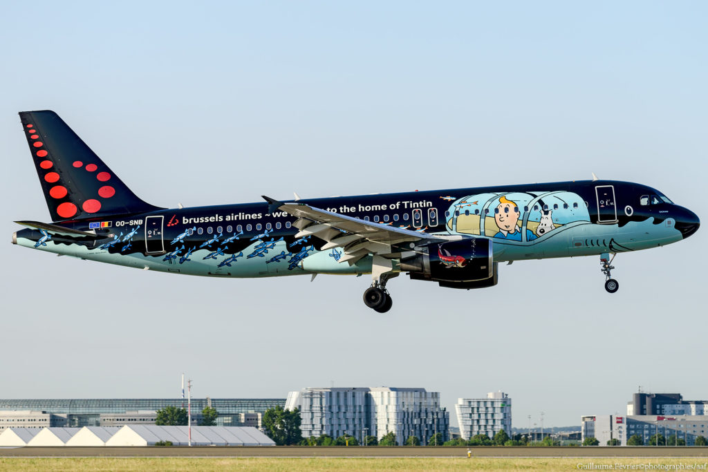 """Rackham"" Brussels Airlines Airbus A320-214 cn 1493 OO-SNB"