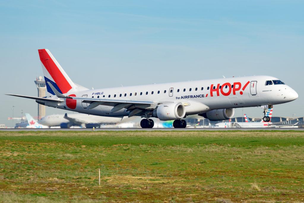 Embraer 190 HOP! Air France