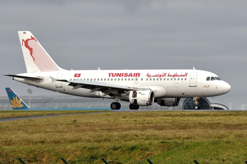 Airbus A319-114 TUNISAIR - MSN 880