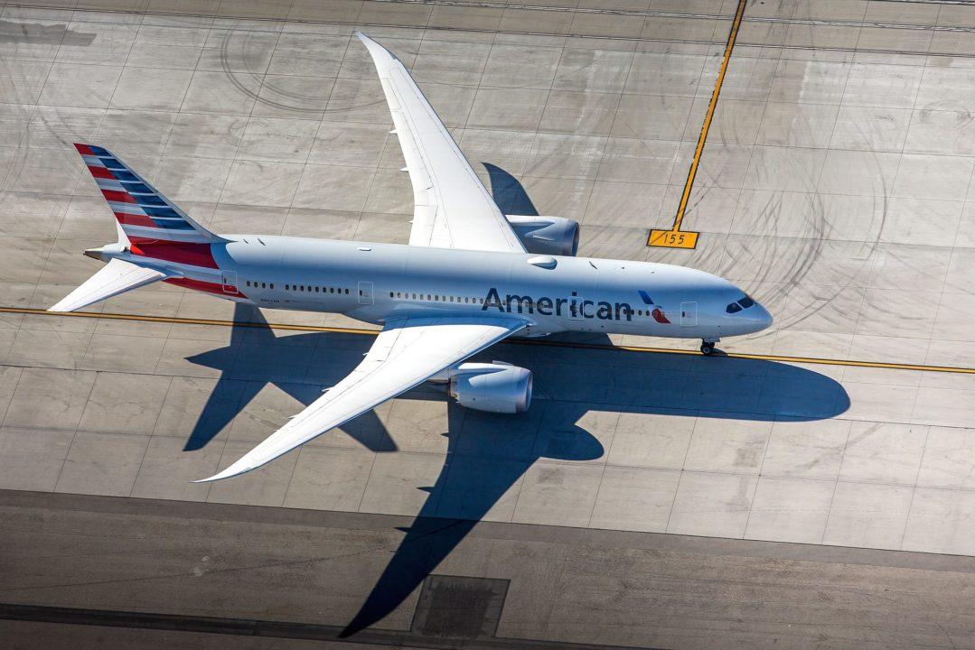 American B787-8 Dreamliner N802AN / cn 40620