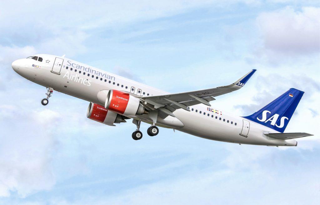 Airbus A320neo SAS au décollage