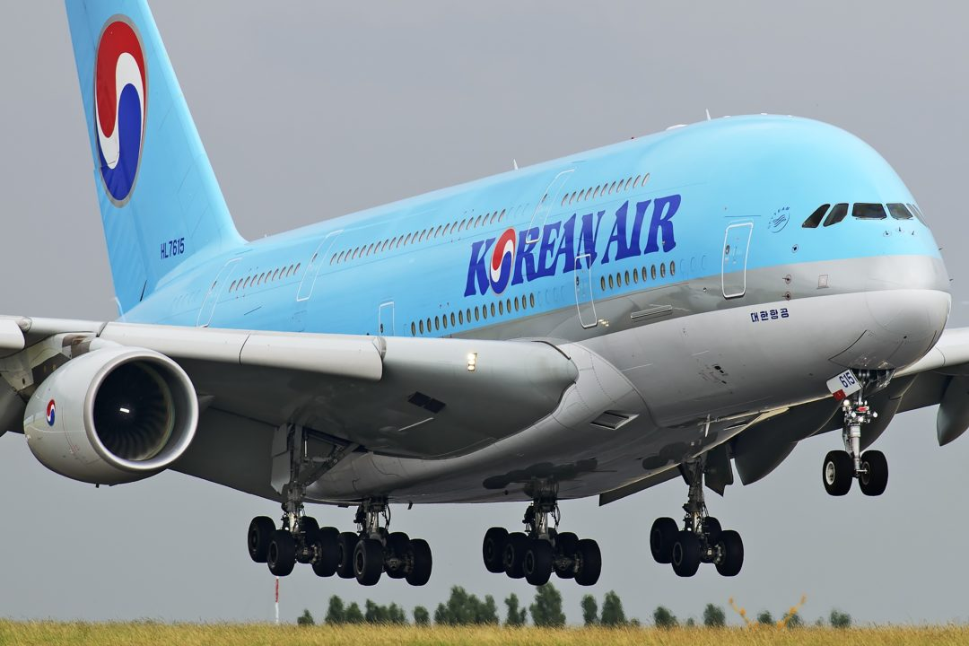 A380 Korean Air / HL-7615 / MSN-75 / le 5e A380 Korean Air reçu en novembre 2011