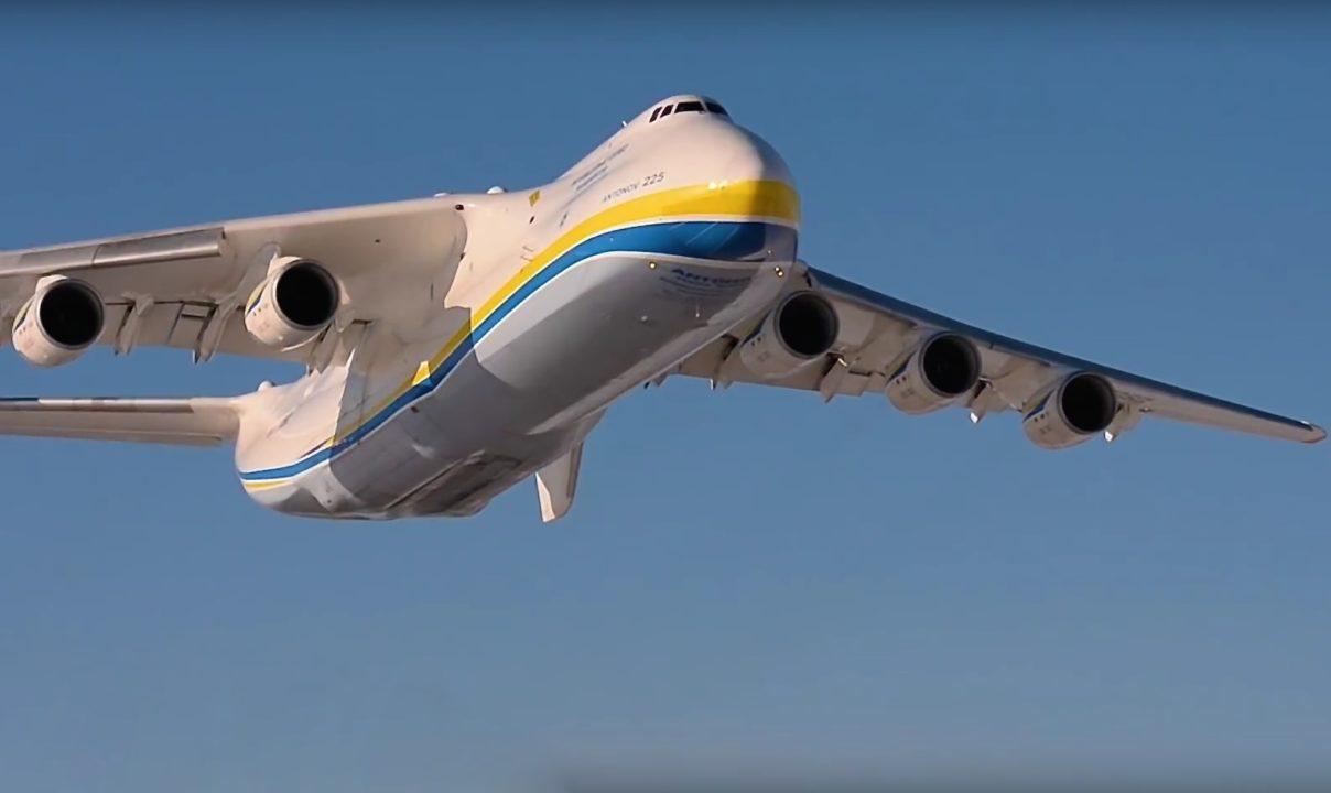 Antonov An-225 Mryia lors de son vol le 19 mars dernier