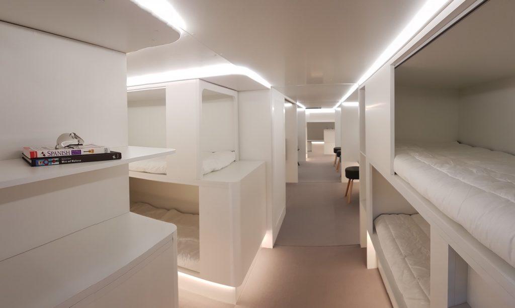 Modules de repos passagers disponibles à l'horizon 2020 pour A330