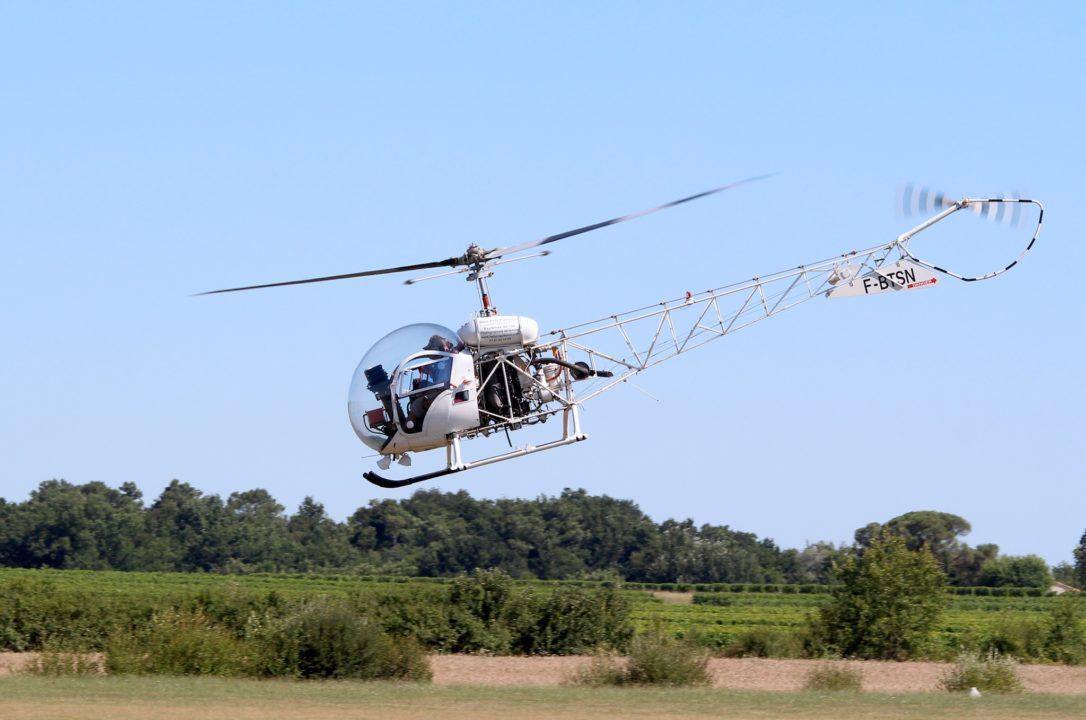 Agusta Bell 47 G2 [F-BTSN] équipé d'un moteur Lycoming VO 435