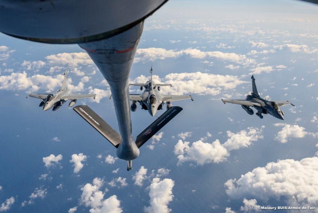 Convoyage Rafale M en C-135