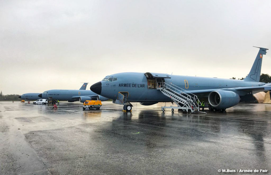 C-135 sur la base de Landivisiau