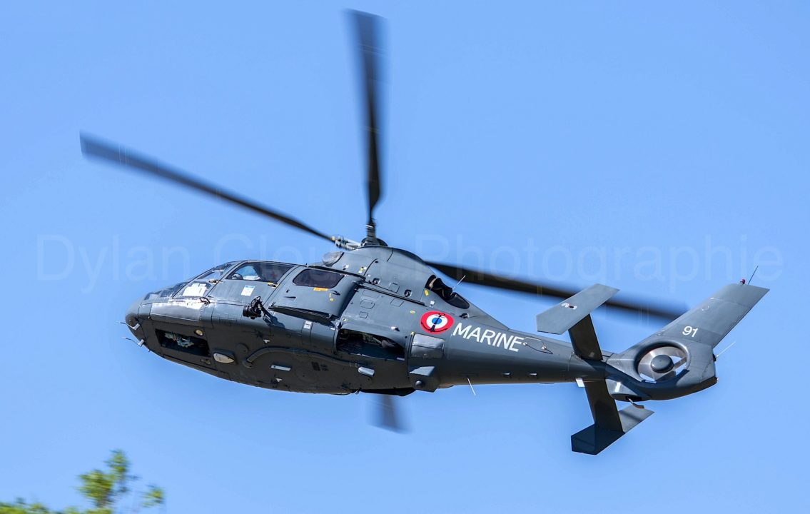 Aerospatiale SA-365SP Dauphin - French Navy (35F) - CN 6191