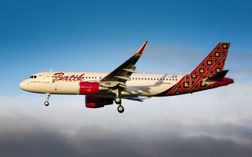 F-WWBB // PK-LUP Batik Air Airbus A320-214(WL) - cn 7496