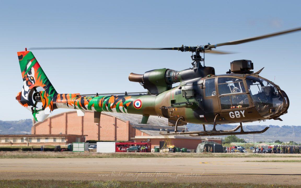 Aérospatiale SA-342M Gazelle Armée de Terre, msn 4145 / GBY / F-MGBY