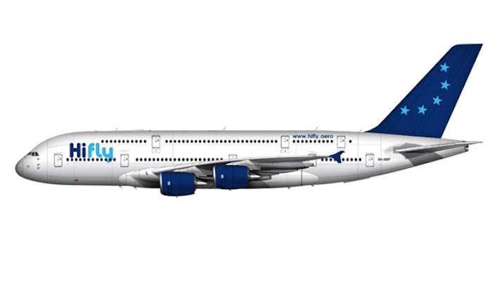 Vue 3D des futurs A380 Hi Fly