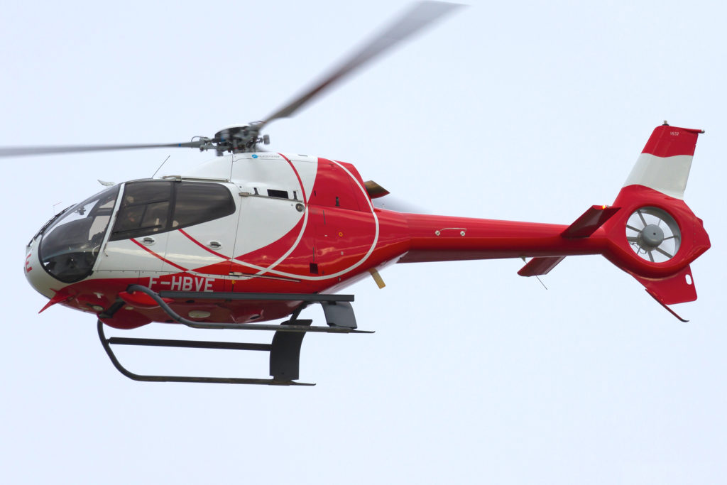 F-HBVE, HeliDax,Eurocopter EC120B, CN 1637