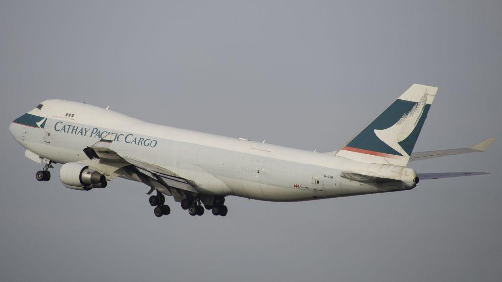 Boeing 747 Cathay Pacific Cargon B-LIB
