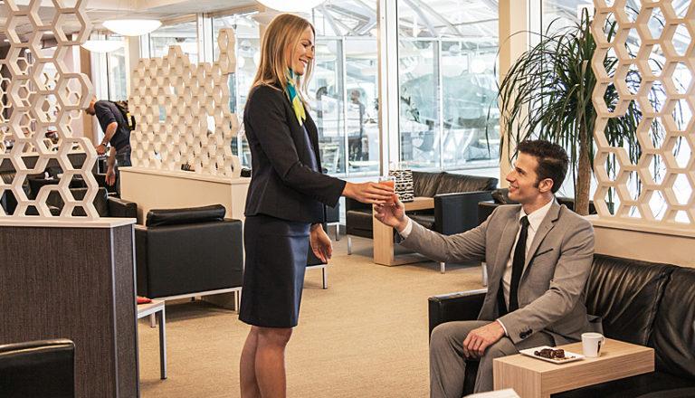 accueils VIP de l'aéroport de Nice