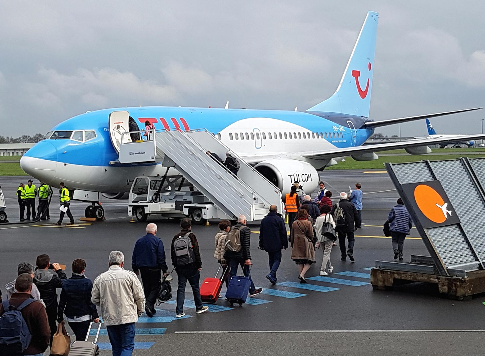 1er vol entre Rennes et Palerme le 9 AVril 2018