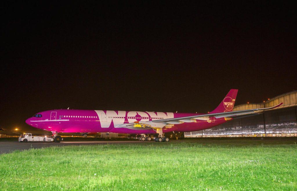1er A330neo WOW air