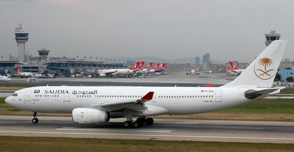 TC-OCH un Airbus A330-200 Saudia