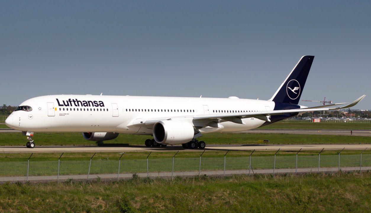 F-WZGO // D-AIXI, Airbus A350-941, Lufthansa, Dortmund