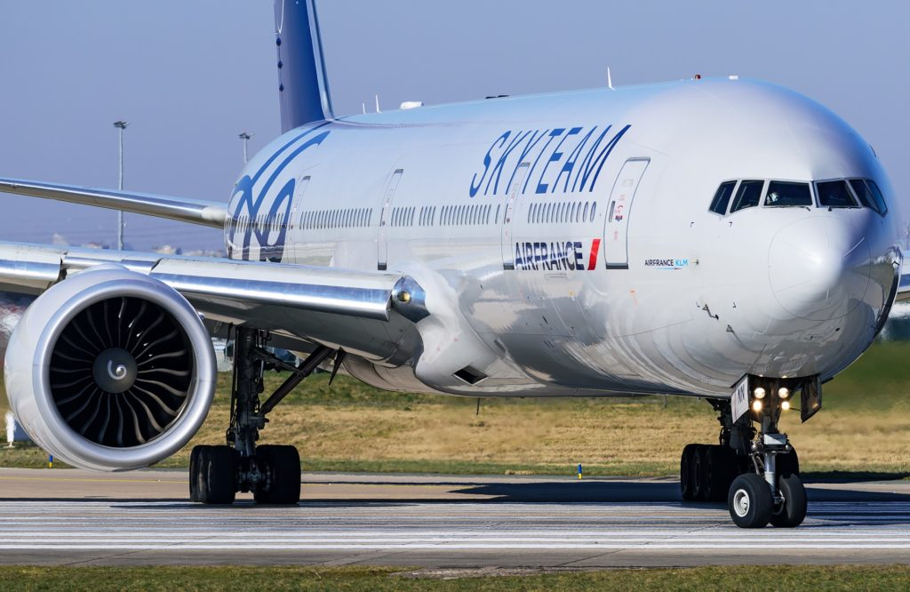 Boeing 777-200 Air France livrée Skyteam