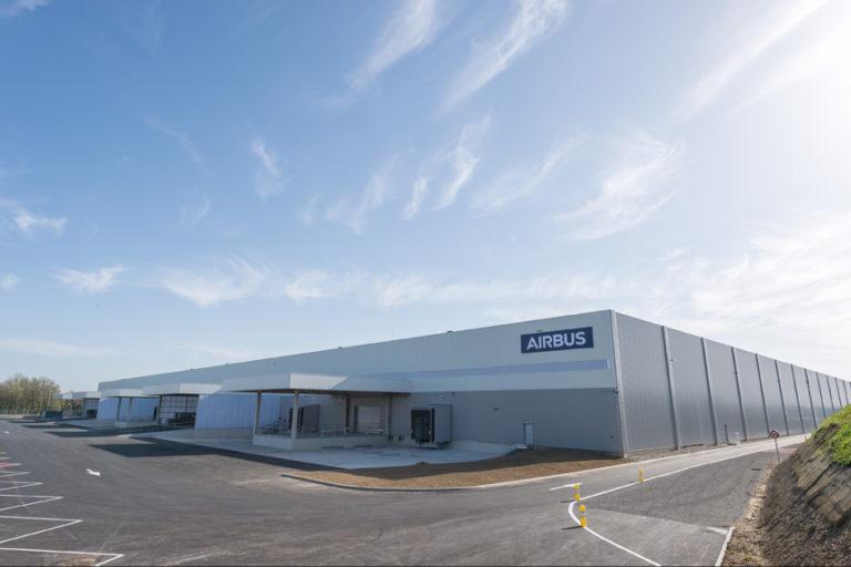Le bâtiment Airlog II d'une superficie de 36 000 m2