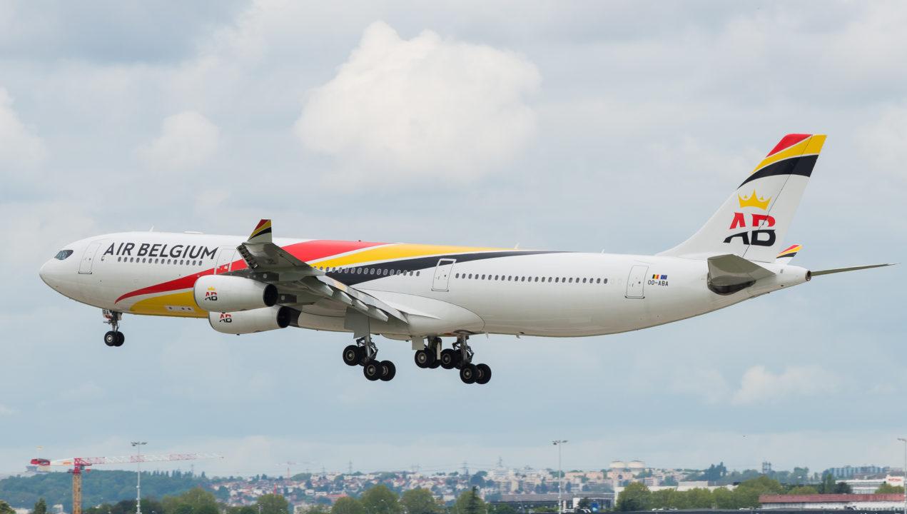 Airbus A340-300 Air Belgium OO-ABA