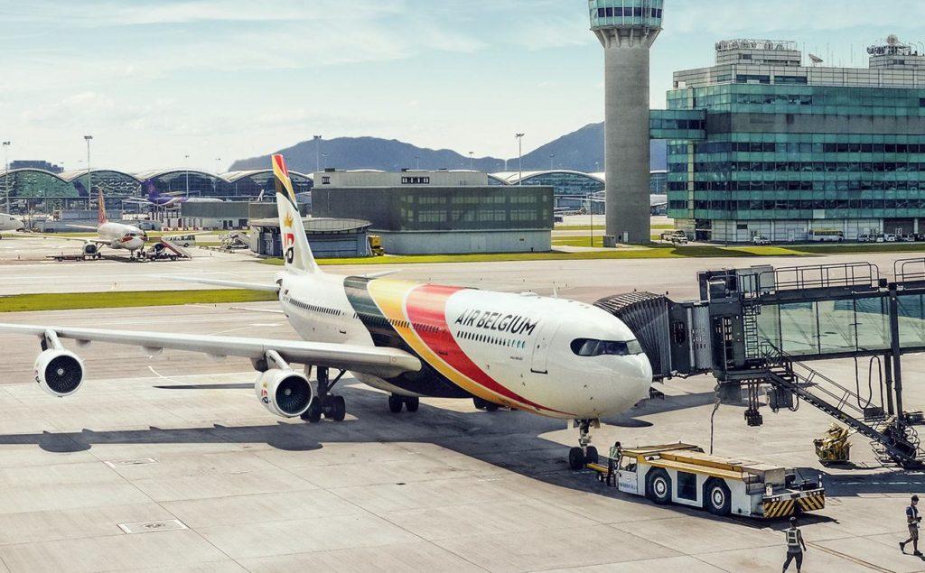 Airbus A340 aux couleurs d'Air Belgium
