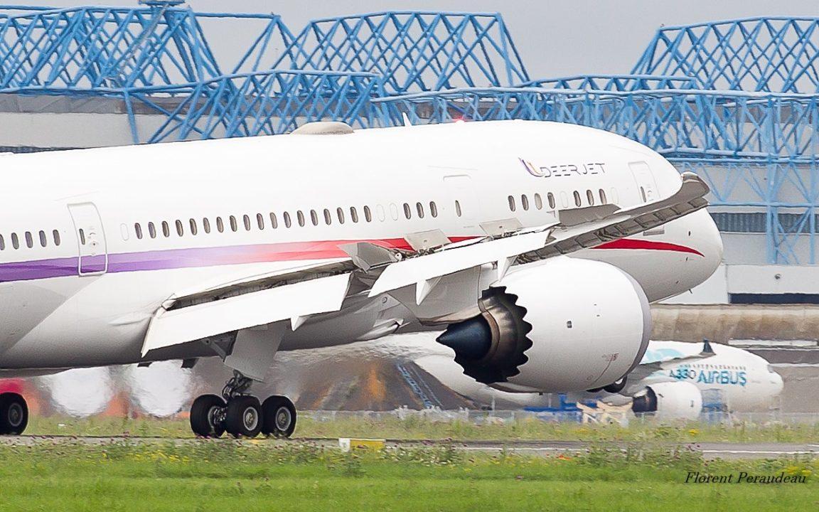 Boeing 787-800 DEER JET [2-DEER] à Toulouse