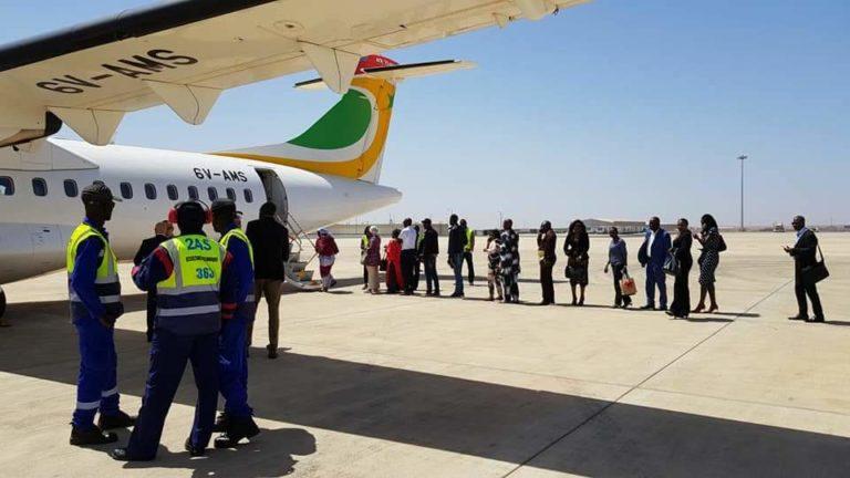 Départ du 1er vol Air Sénégal