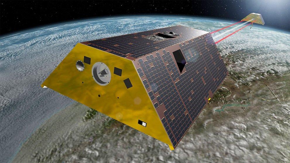 Les satellites jumeaux GRACE-FO