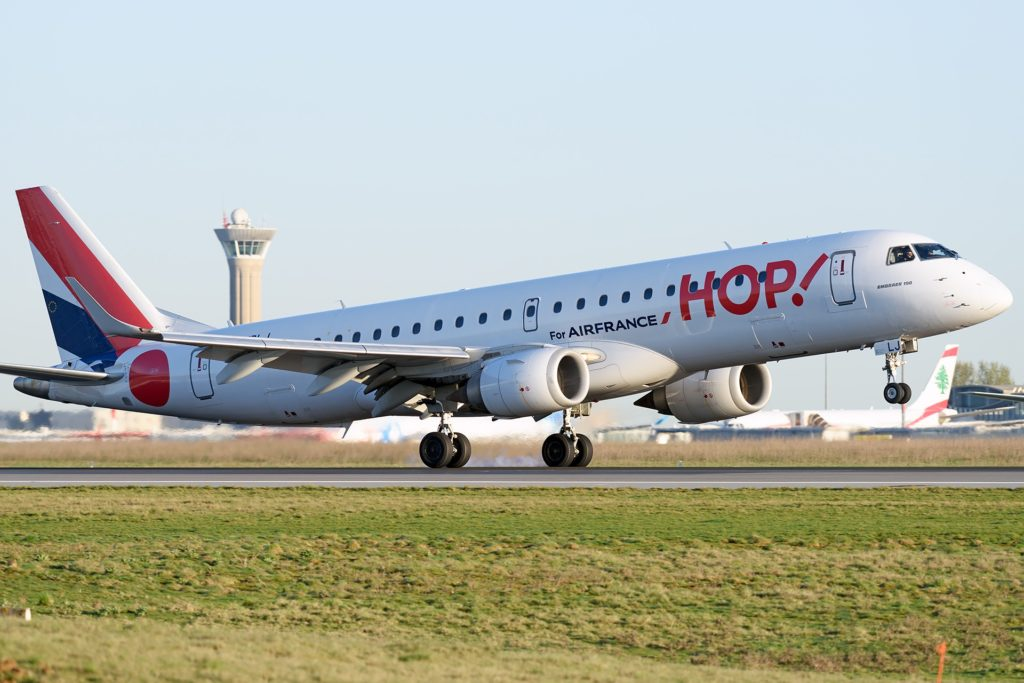 Embraer 190 HOP! Air france