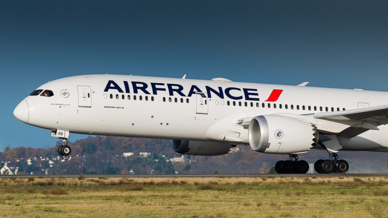 Boeing 787-9 Dreamliner Air France F-HRBB