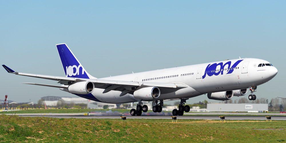 A340-300 Joon au décollage de Roissy