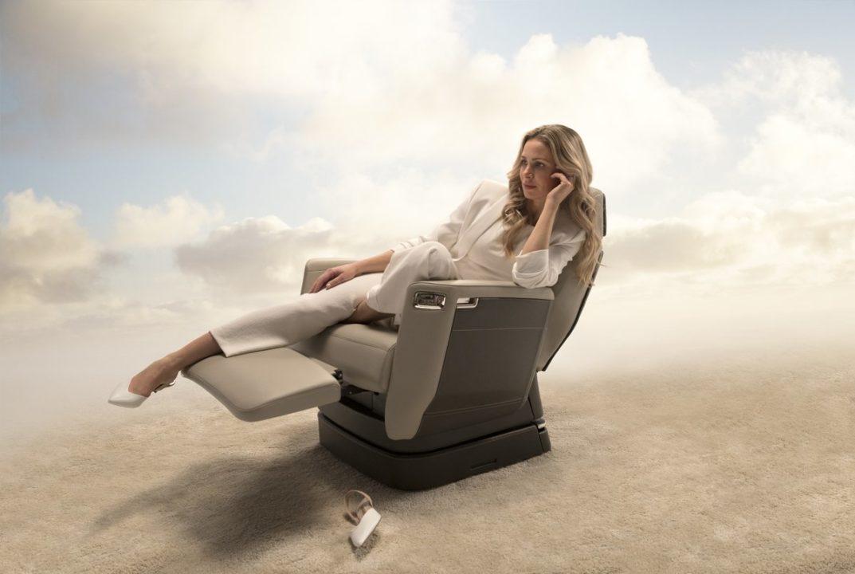 sièges Nuage brevetés de Bombardier