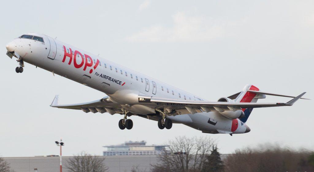 Bombardier CRJ-1000 HOP! F-HMLD