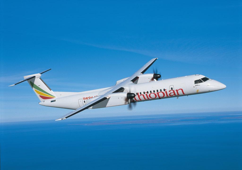 Bombardier Q400 Ethiopian Airlines