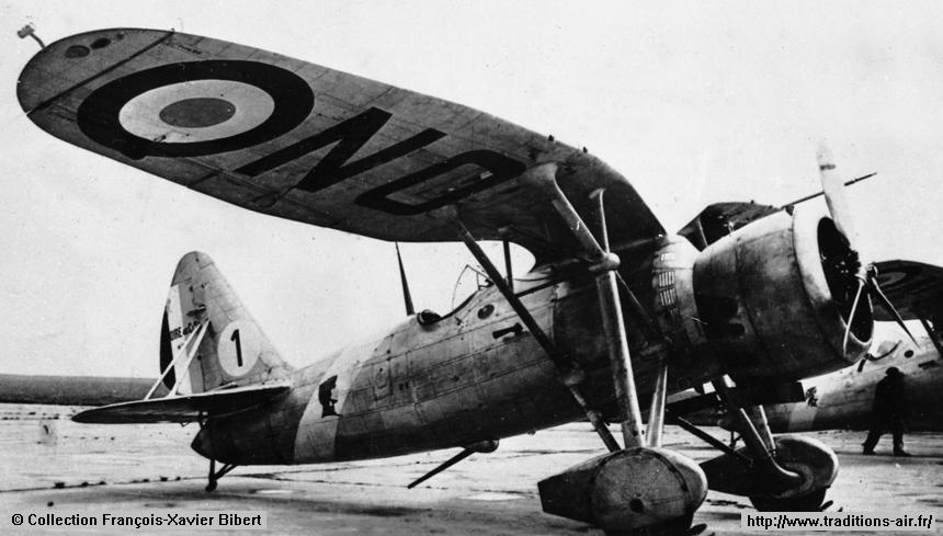 Loire 46 - GC II/6 (SPA 26 et SPA 124) - 6ème escadre de chasse - Chartres - 1938.