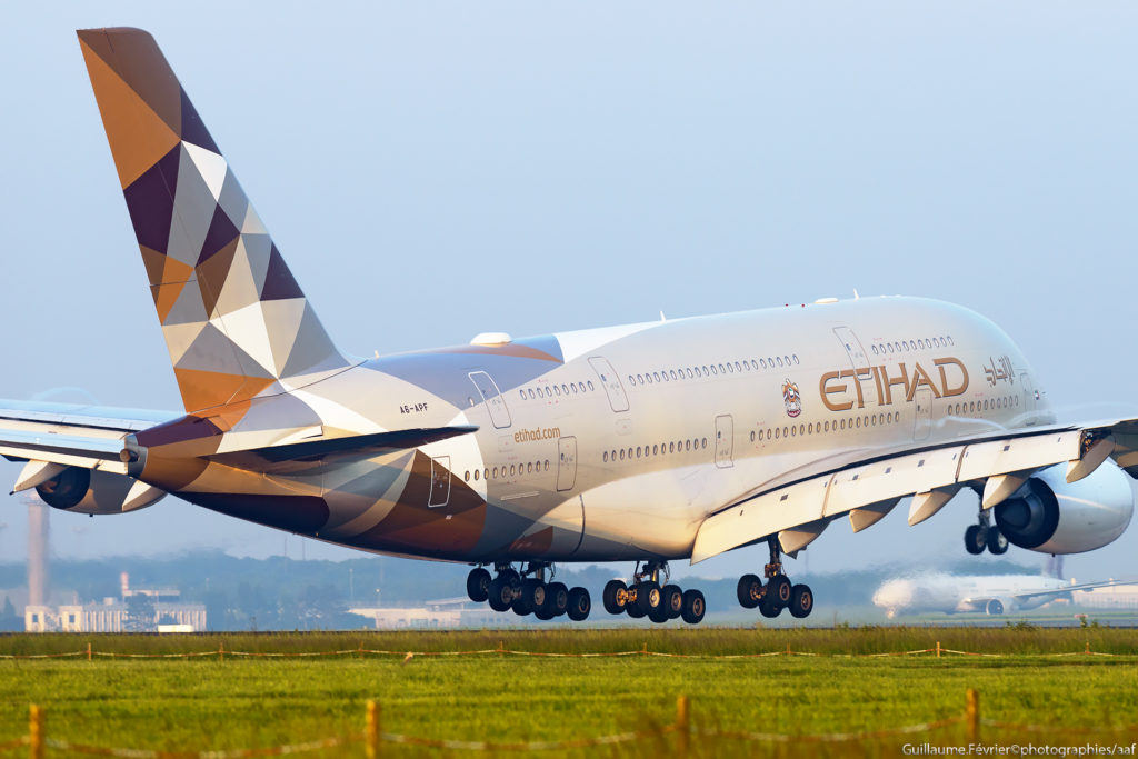 A380 Etihad Airways / A6-APF