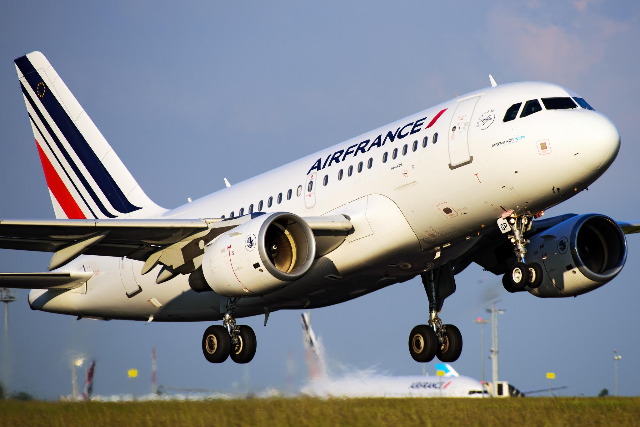 Airbus A318 Air France à Orly