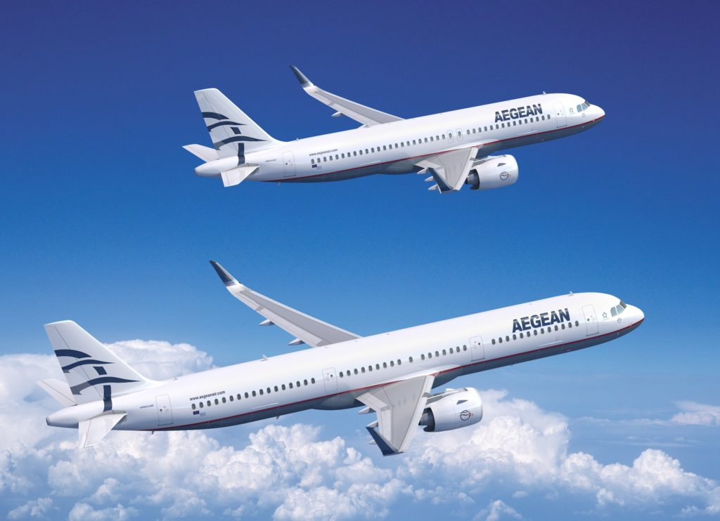 A320neo et A321neo Aegean Airlines