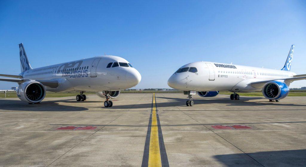Airbus et Bombardier