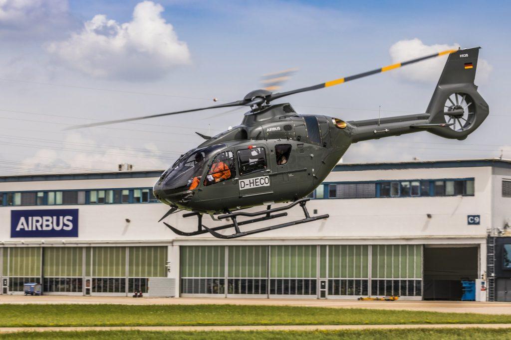 H135 en service à la Bundeswehr