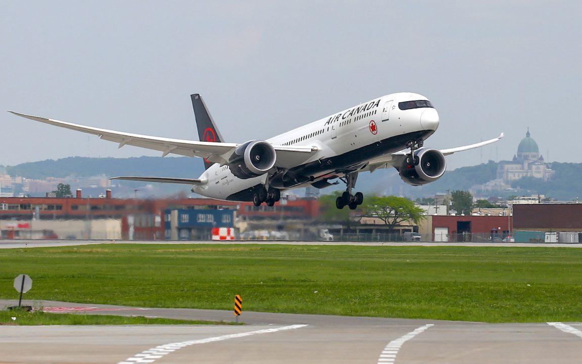 Le départ du vol AC005 vers le Japon