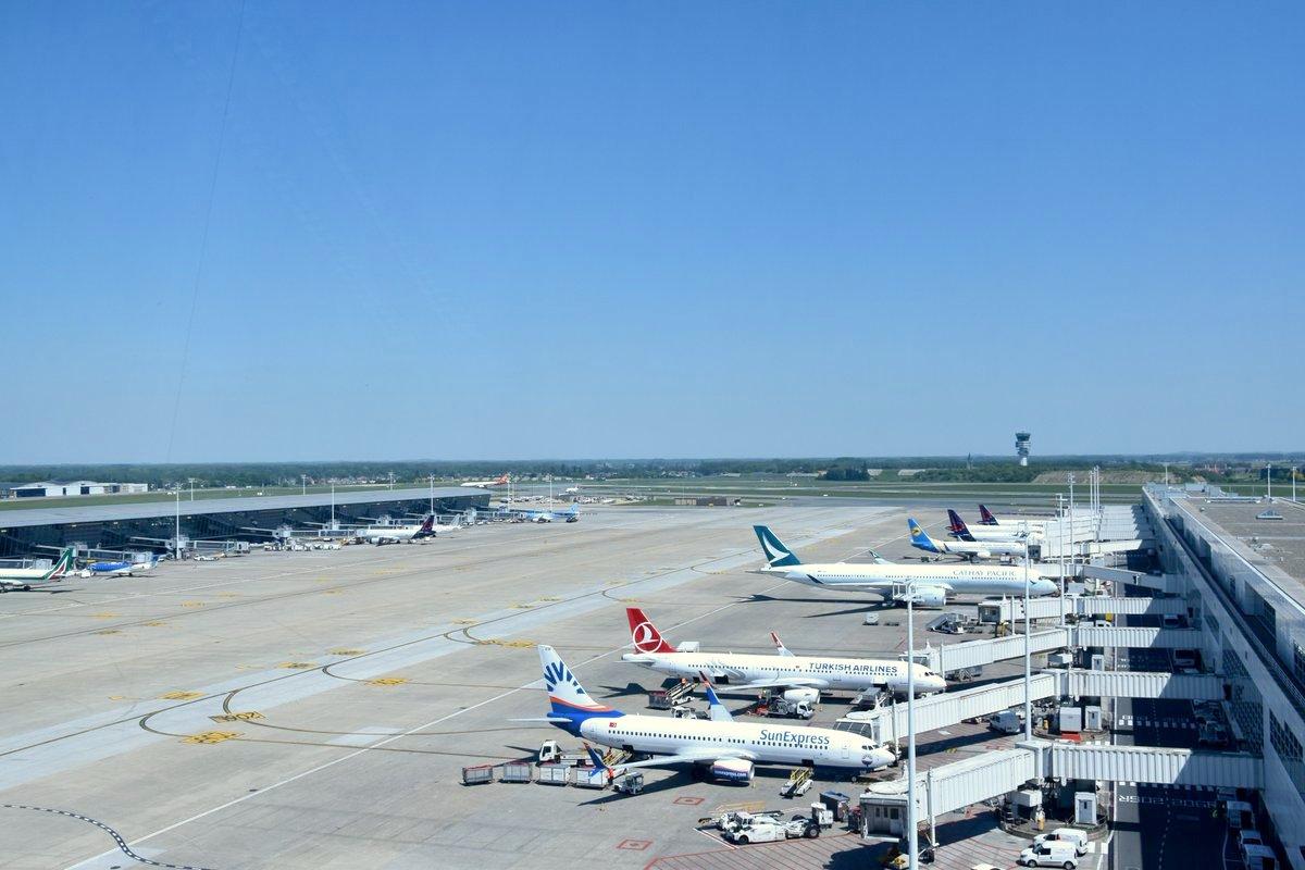 Aéroport de Bruxelles, Belgique