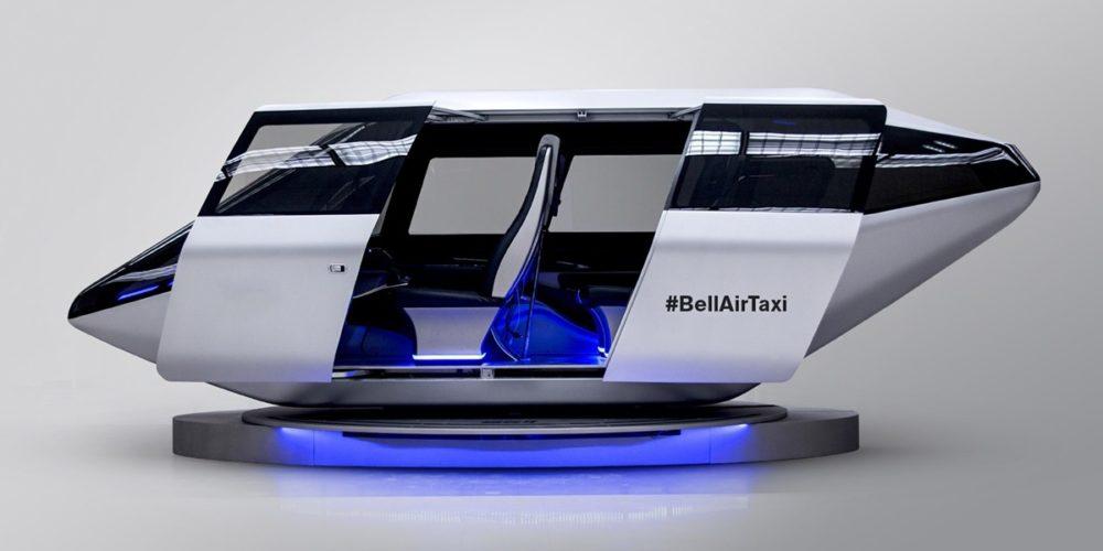 Vue 3D d'un concept de véhicule VTOL Bell