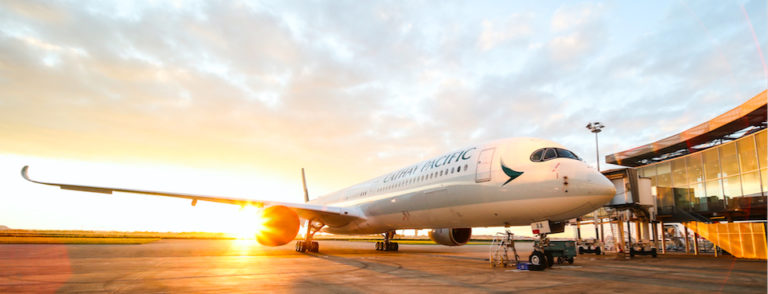 F-WZGV LE premier Airbus A350-1000 Cathay Pacific