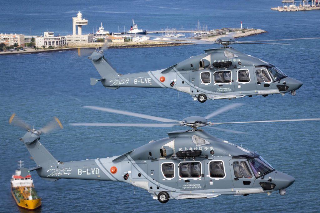 Les premiers H175 en configuration SAR