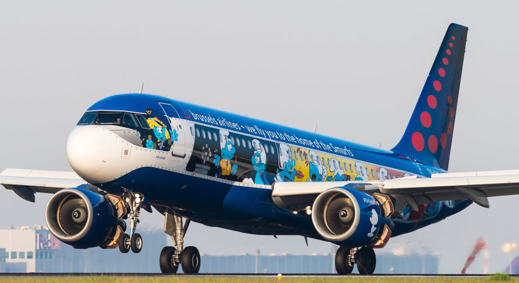 Airbus A320-214 Brussels Airlines OO-SDN